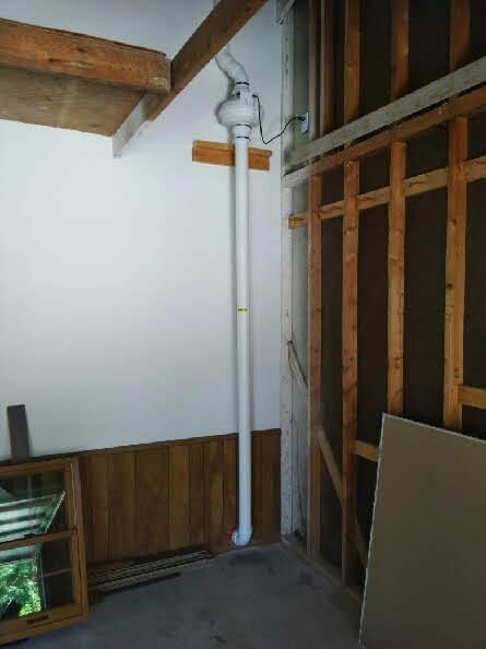 Radon Mitigators Garage Install