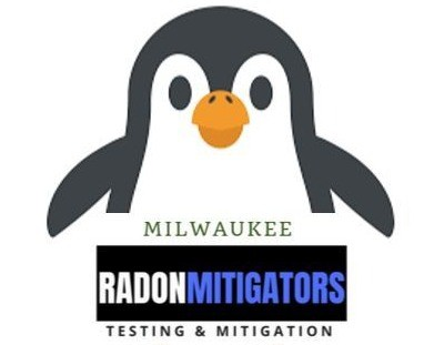 Milwaukee Radon Mitigation Mitigators 2321 S 69th St, West Allis, WI 53219 414-433-9400 Penguin Mascot