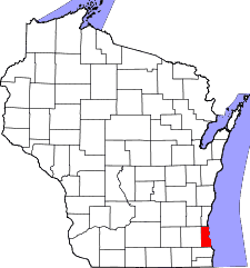 Greenfield WI Map of Milwaukee Radon Mitigation Mitigators Service Area 2321 S 69th St, West Allis, WI 53219 414-433-9400