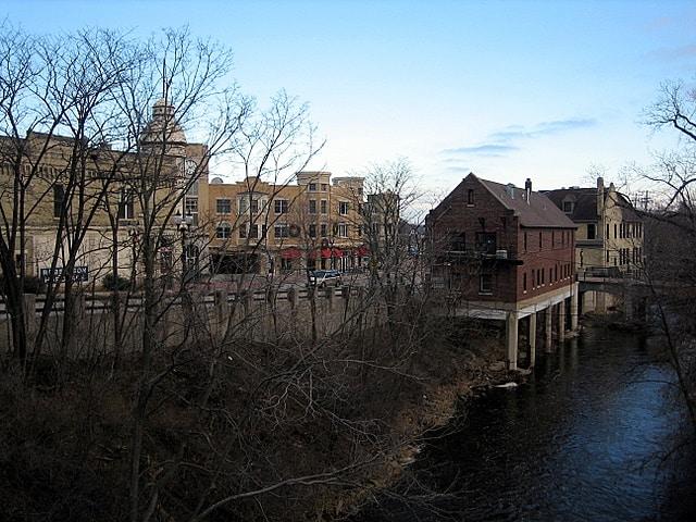 Wauwatosa home with radon menomonee river
