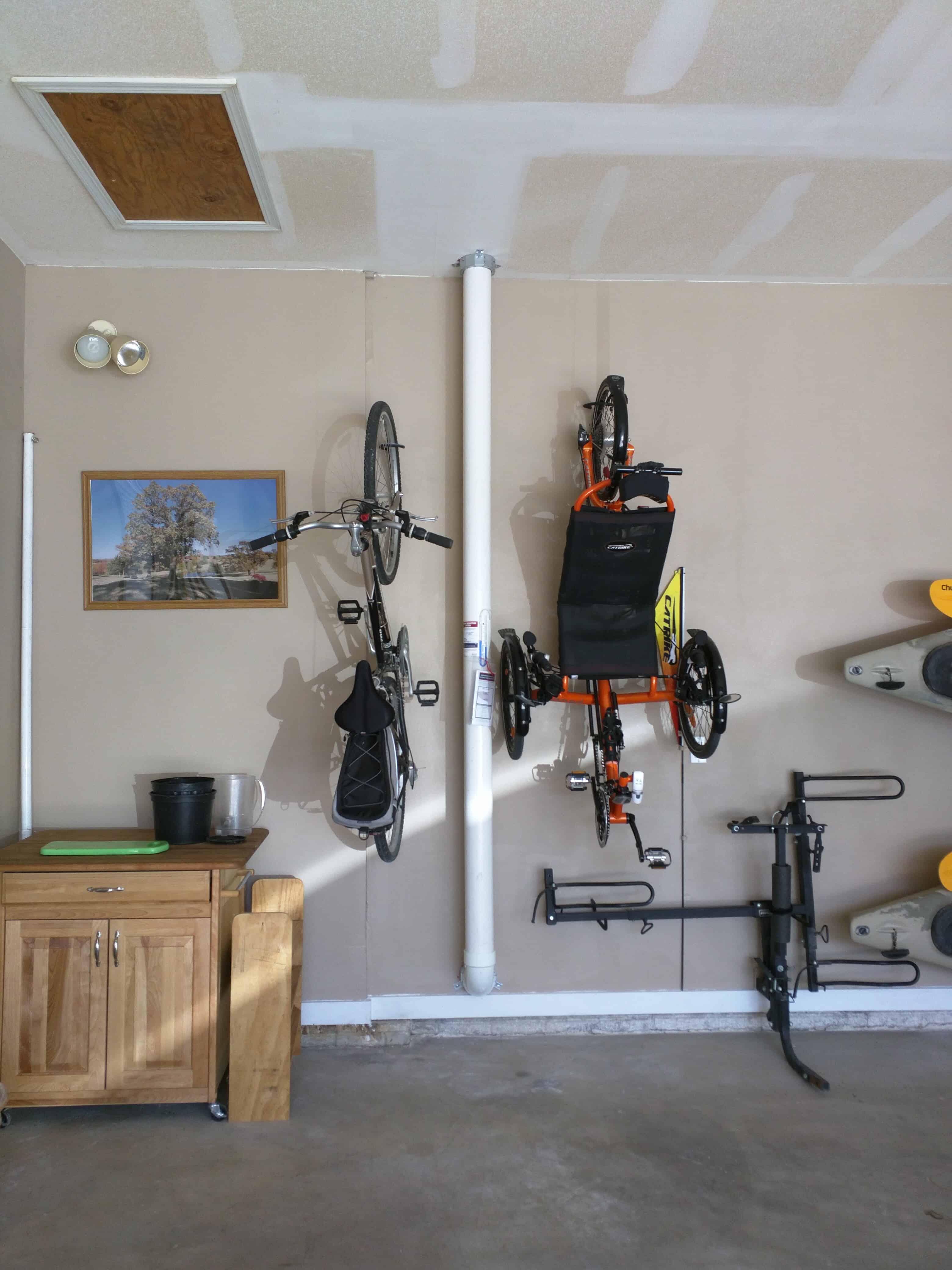 Milwaukee Radon Mitigation Mitigators 2321 S 69th St, West Allis, WI 53219 414-433-9400 Tucked Along Garage Wall installation https://radontestmitigation.com/