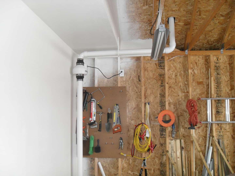 Milwaukee Radon Mitigation Mitigators 2321 S 69th St, West Allis, WI 53219 414-433-9400 Garage Tucked away installation https://radontestmitigation.com/