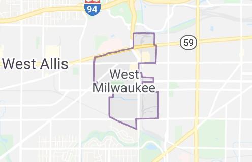 Radon Testing Shown On Map Of West Milwaukee Milwaukee Radon Mitigation Mitigators 2321 S. 69 STREET West Allis, WI 53219